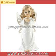 Pretty Musical Porcelain Angel figurines