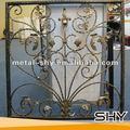 metal de hierro forjado rejas de ventana