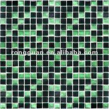10*10mm glass mosaic tiles for bathroom, swimming pool