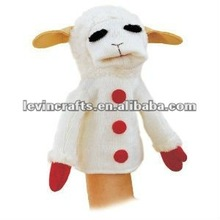 cute lamb hand puppet toy