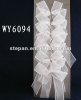 WY-6094 white outdoor christmas bow
