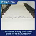 decorar cristal branco pedra escadas