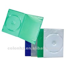 DVD amaray case packaging with different colors for disc storage
