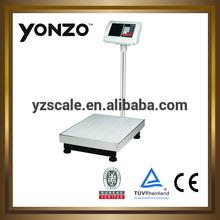 LCD/LED larger plastic indicator 100KG electronic Platform Scale (YZ-803)