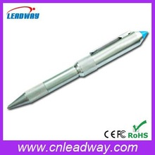 Metal writing pen shenzhen usb flash drive