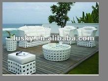 2012 New Design Elegant Cutout Rattan Sofa