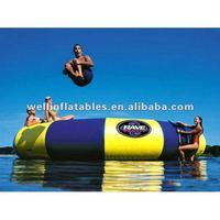 funny aqua high jump bed/ jump sport trampoline/ jumping trampoline