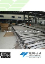 Advanced gypsum board production machine