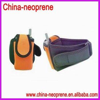 Neoprene Wrist Cell Phone Bag