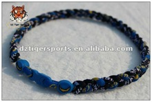 2013 US Football Necklace San Diego Chargers--braided titanium sports necklace--Buffalo Bills