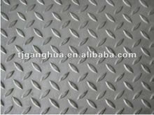 mandorla pattern anti-slip stainless steel sheet