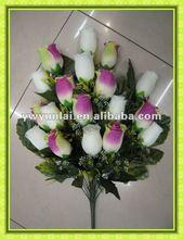 silk flower heads, silk flowers, customised plastic flower