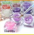 Caliente 2014 del arte del clavo de colores uv gel, 10ml/15ml/1kg remoje off/, 150 los colores de moda b
