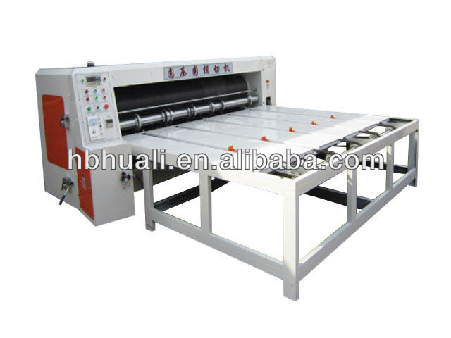 GM corrugated paperboard carton semi-auto rotary die cutting machine