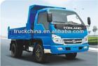Foton 4x4 Mini Dump Truck 3ton mini Dump Trucks for sale