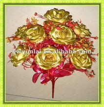 artificial tropical flower, artificial silk frangipan