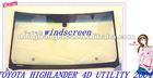 windshield auto glass FW2475 TOYOTA HIGHLANDER 4D UTILITY 2004-