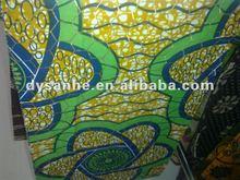 pure cotton veritable african real/imitation/super batik wax printed fabric