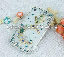 In 2012, Luxuy Case For Phone Rhinestone Custom Hard Phone Cases ZD1338