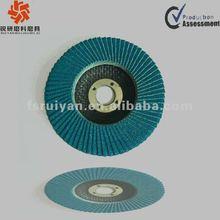 T29 Convex shape blue zirconia abrasive flap disc
