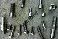 Gr2 titanium screw HEX SOCKET CAP SCREWS DIN921 M5*25mm manufacture