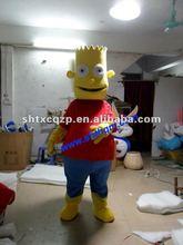 2012 new inflatable fur costume cartoon