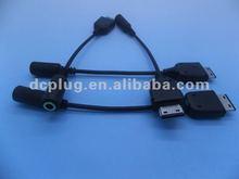 USB to 3.5mm audio jack phone converter