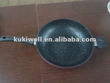 forged die cast wok pan
