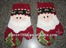 Santa Oven Mitts christmas oven mitt