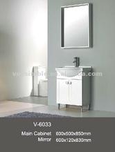 2012 elegant bathroom furniture,bathroom vanity with solid surface wash basin