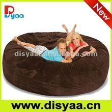 8' Disyaa Foam Filled Bean Bag Chair