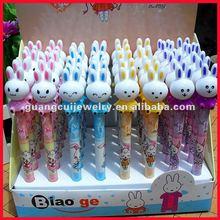 fashion rabbit pens ballpoint for kids