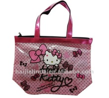 hello kitty children school bag kids messenger bag branded