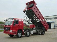 Stone/sand carrier howo 8*4 dump truck