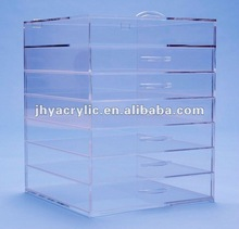 countertop acrylic cosmetic organizer
