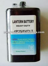 4R25 6V carbon zinc battery