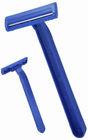 D104 Blue Plastic Single blade disposable shaving razor for hospital ( les marques de rasoir )