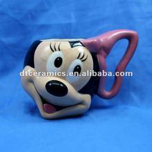 3D ceramic animal mug