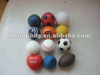 PU stress ball shape,PU anti stress balls,PU foam ball