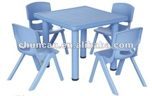 2015 kids plastic table and chair set children chair