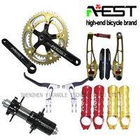 cnc machined aluminum parts bicycle groupset
