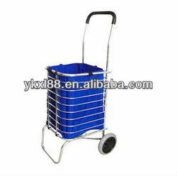 foldable aluminum shopping trolley ZZ905