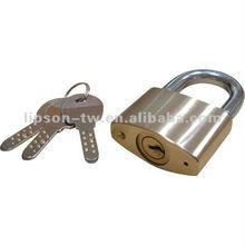 Double Locking Mechanism Kaba Key Brass Padlock