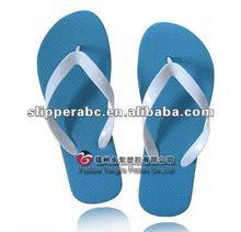 lady blue natural rubber flip flops
