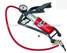 High pressure capacity Foot pump