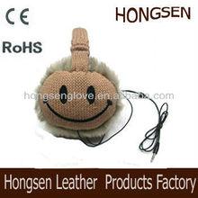 HSET247 knitted headphone earmuffs