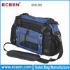 unique desgin solar camera bag, solar mobile phone charger bag with 2200mah battery