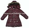 Winter polsterung mantel kid's/kleidung