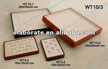 wood jewelry trays