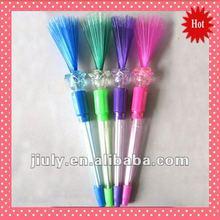 2014 Light up Puffer ball Pen Flashing Puffer ball Pen Novelty pen